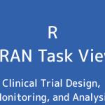 R言語 CRAN Task View:臨床試験デザイン、監視、および分析