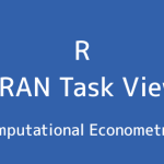 R言語 CRAN Task View:計算計量経済学