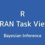 R言語 CRAN Task View:ベイズ推論