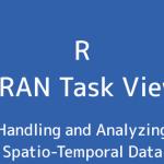 R言語 CRAN Task View:時空間データの処理と分析