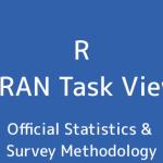 R言語 CRAN Task View:政府統計&調査の方法