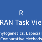 R言語 CRAN Task View:系統学、特に比較方法