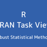 R言語 CRAN Task View:堅牢な統計的方法
