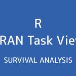 R言語 CRAN Task View:生存時間解析
