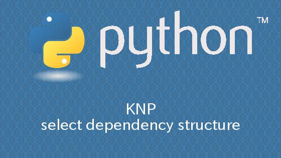 Python KNPを用いて係り受け構造を抽出する方法