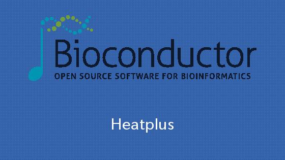 Bioconductor HeatplutsパッケージのregHeatmapで文字の大きさを変える