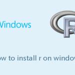 WindowsにRをインストールする手順