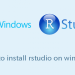 WindowsにRStudioをインストールする手順