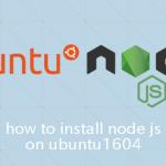 Ubuntu16.04で任意のバージョンのNode.jsをインストールする方法