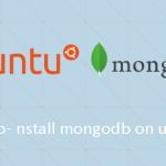 Ubuntu MongoDBのインストールする手順