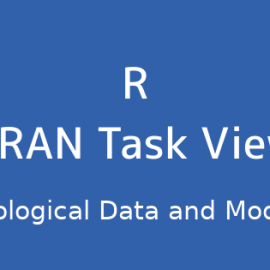 R言語 CRAN Task View:水文データとモデリング