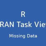 R言語 CRAN Task View:欠損データ