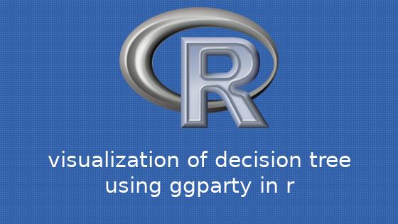 R ggpartyパッケージを用いた決定木の可視化