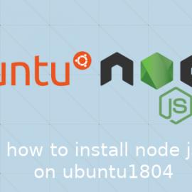 Ubuntu18.04で任意のバージョンのNode.jsをインストールする方法