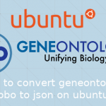 UbuntuでGENEONTOLOGYのgo.oboをjson形式に変換する方法