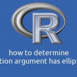R 関数の引数が省略記号(…)を持つかどうかを判定する方法